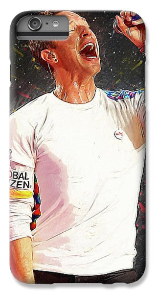 Chris Martin - Coldplay IPhone 6 Plus Case by Semih Yurdabak