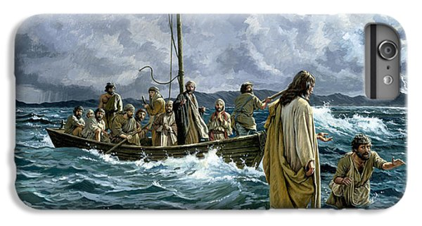 Christ Walking On The Sea Of Galilee IPhone 6 Plus Case