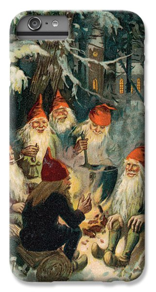 Elf iPhone 6 Plus Case - Christmas Gnomes by English School