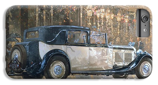 Car iPhone 6 Plus Case - Christmas Lights And 8 Litre Bentley by Peter Miller