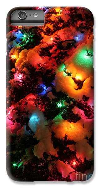 Christmas Lights Coldplay IPhone 6 Plus Case by Wayne Moran