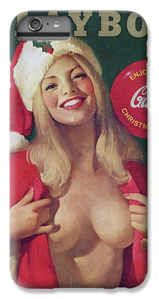 Elf iPhone 6 Plus Case - Christmas Playboy Vintage Cover by Edward Fielding