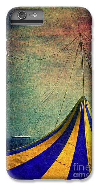 Circus With Distant Ships II IPhone 6 Plus Case by Silvia Ganora