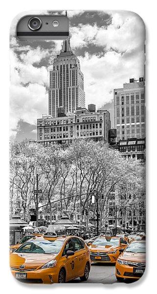 Building iPhone 6 Plus Case - City Of Cabs by Az Jackson