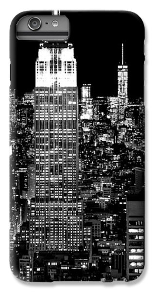 Empire State Building iPhone 6 Plus Case - City Of The Night by Az Jackson