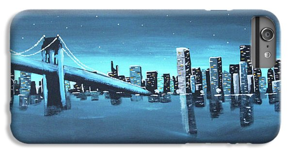City Skyline IPhone 6 Plus Case by Cyrionna The Cyerial Artist