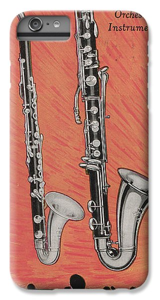 Clarinet And Giant Boehm Bass IPhone 6 Plus Case
