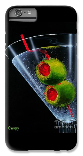 Classic Martini IPhone 6 Plus Case by Michael Godard