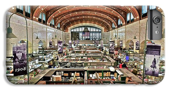 Classic Westside Market IPhone 6 Plus Case by Frozen in Time Fine Art Photography
