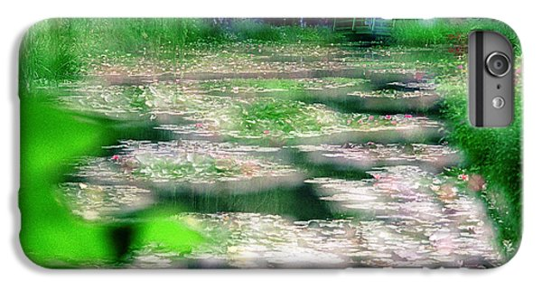 IPhone 6 Plus Case featuring the photograph Claude Monets Water Garden Giverny 1 by Dubi Roman