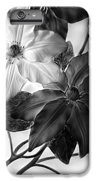 Clematis Overlay IPhone 6 Plus Case by Jessica Jenney
