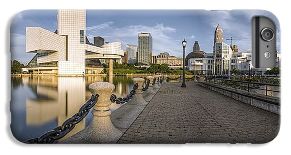Cleveland Panorama IPhone 6 Plus Case by James Dean