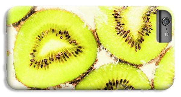 Close Up Of Kiwi Slices IPhone 6 Plus Case