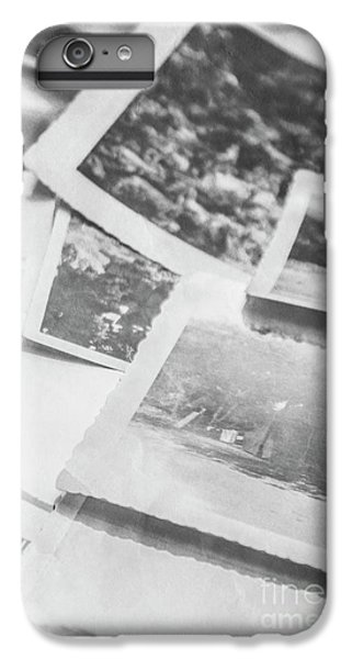 Close Up On Old Black And White Photographs IPhone 6 Plus Case