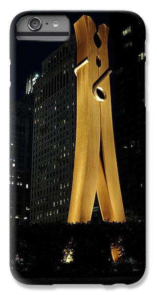 Clothespin At Night - Philadelphia IPhone 6 Plus Case