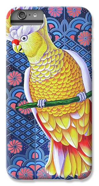 Cockatoo IPhone 6 Plus Case by Jane Tattersfield