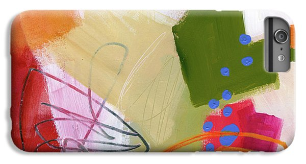 Color, Pattern, Line #4 IPhone 6 Plus Case by Jane Davies