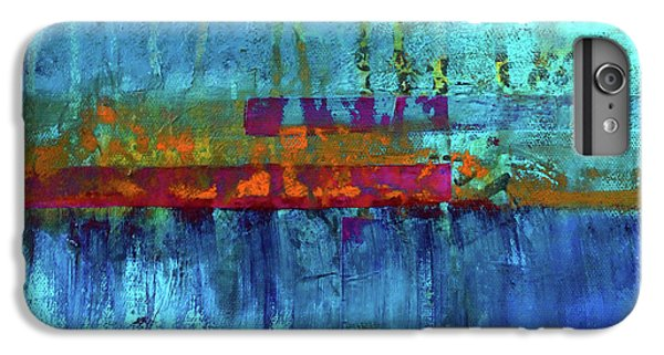 IPhone 6 Plus Case featuring the painting Color Pond by Nancy Merkle