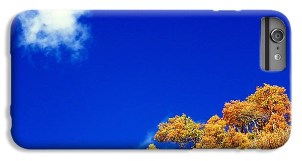 IPhone 6 Plus Case featuring the photograph Colorado Blue by Karen Shackles