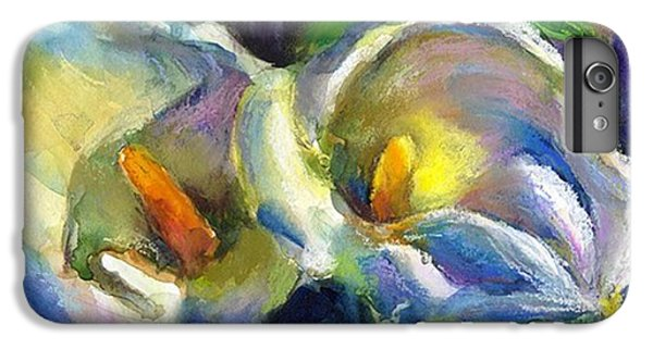 iPhone 6 Plus Case - Colorful Calla Flowers Painting By by Svetlana Novikova