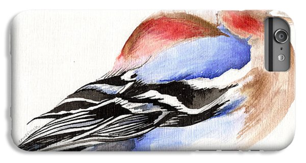 Colorful Chaffinch IPhone 6 Plus Case by Nancy Moniz