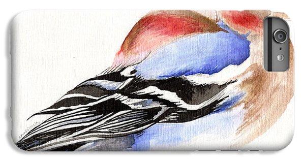 Colorful Chaffinch IPhone 6 Plus Case by Nancy Moniz