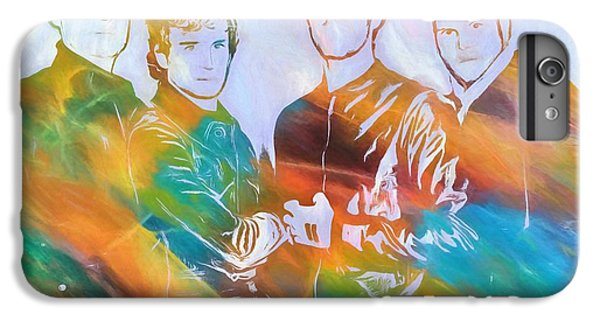 Colorful Coldplay IPhone 6 Plus Case by Dan Sproul