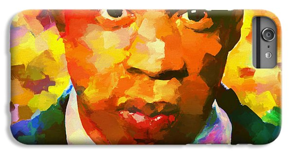 Colorful Jay Z Palette Knife IPhone 6 Plus Case by Dan Sproul