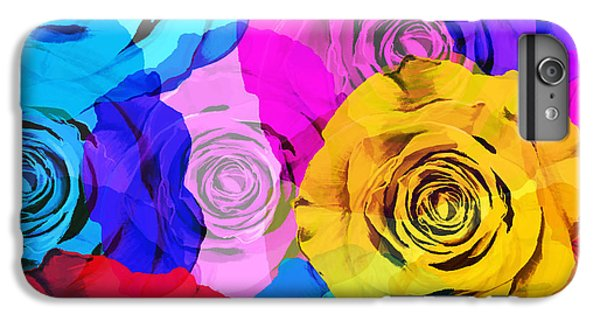 Colorful Roses Design IPhone 6 Plus Case