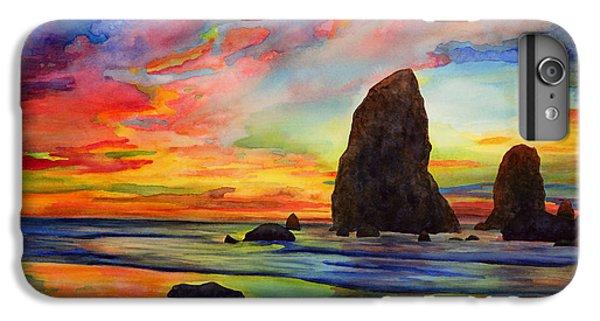 Pacific Ocean iPhone 6 Plus Case - Colorful Solitude by Hailey E Herrera