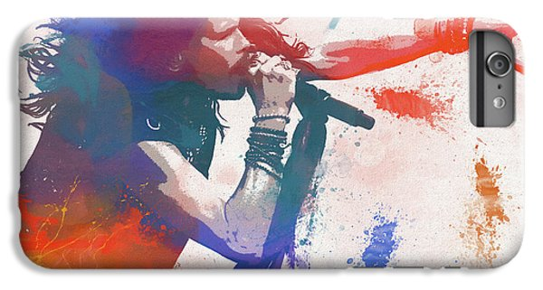 Colorful Steven Tyler Paint Splatter IPhone 6 Plus Case