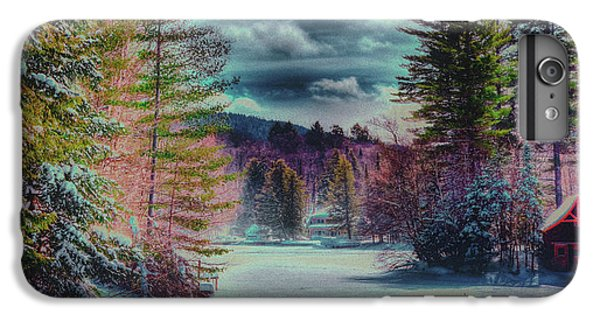 IPhone 6 Plus Case featuring the photograph Colorful Winter Wonderland by David Patterson