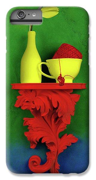 Tulip iPhone 6 Plus Case - Colors by Tom Mc Nemar