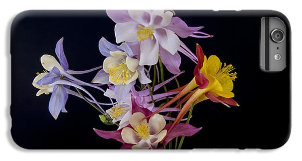 IPhone 6 Plus Case featuring the photograph Columbine Medley by Gary Lengyel