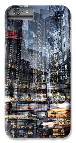 Columbus Circle Collage 1 IPhone 6 Plus Case by Dave Beckerman