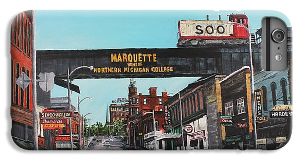 Marquette iPhone 6 Plus Case - Coming Home by Tim Lindquist