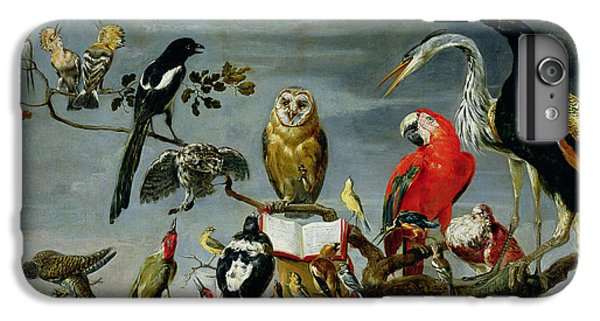 Stork iPhone 6 Plus Case - Concert Of Birds by Frans Snijders