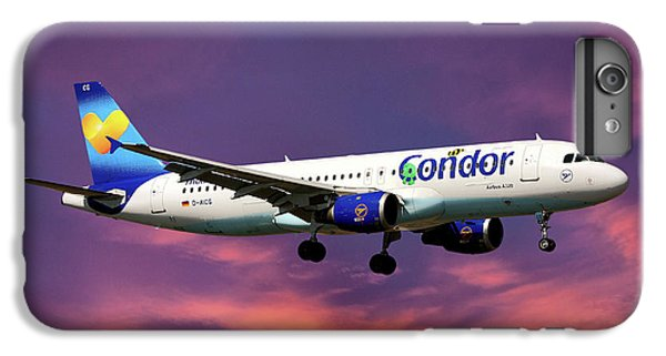 Condor iPhone 6 Plus Case - Condor Airbus A320-212 by Smart Aviation