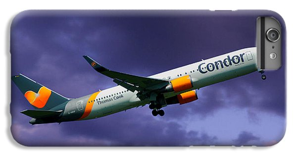 Condor iPhone 6 Plus Case - Condor Boeing 767-3q8 by Smart Aviation