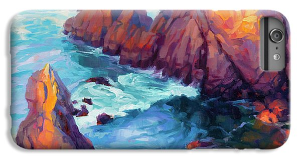 Pacific Ocean iPhone 6 Plus Case - Convergence by Steve Henderson