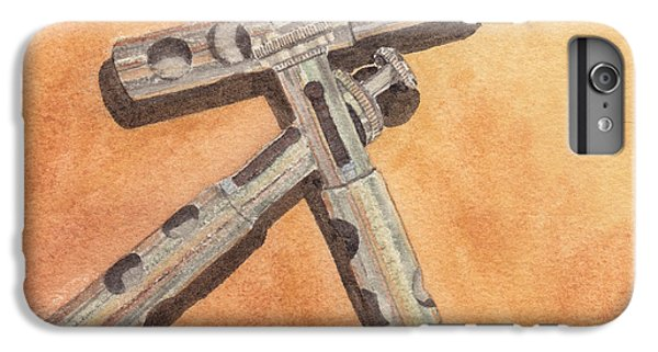 Corroded Trumpet Pistons IPhone 6 Plus Case by Ken Powers
