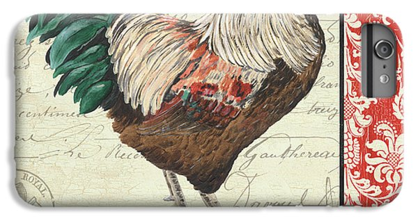Country Rooster 1 IPhone 6 Plus Case by Debbie DeWitt