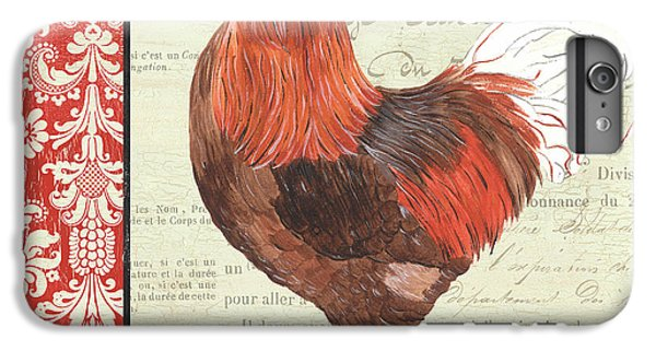Rooster iPhone 6 Plus Case - Country Rooster 2 by Debbie DeWitt