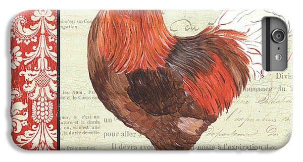 Country Rooster 2 IPhone 6 Plus Case by Debbie DeWitt