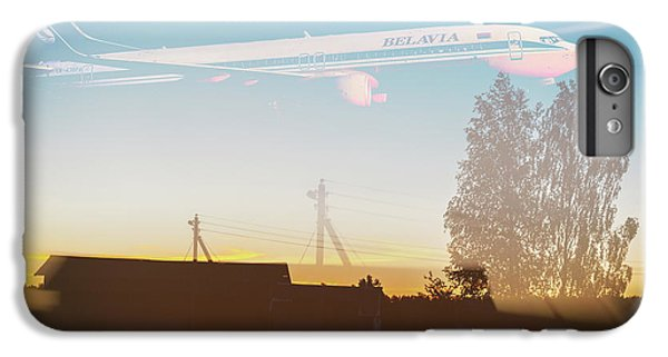iPhone 6 Plus Case - Countryside Boeing by Victor Grigoryev