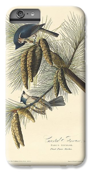Titmouse iPhone 6 Plus Case - Crested Titmouse by Dreyer Wildlife Print Collections