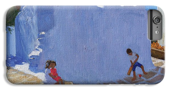 Cricket iPhone 6 Plus Case - Cricket By The Church Wall, Mykonos  by Andrew Macara