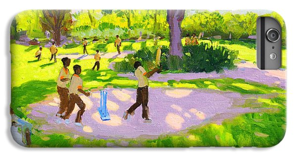 Cricket iPhone 6 Plus Case - Cricket Practice by Andrew Macara