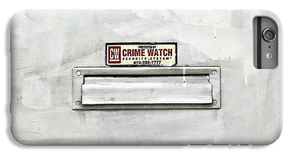 Crime Watch Mailslot IPhone 6 Plus Case