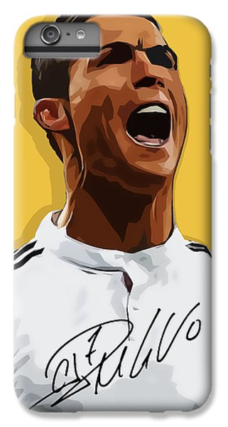 Cristiano Ronaldo Cr7 IPhone 6 Plus Case by Semih Yurdabak